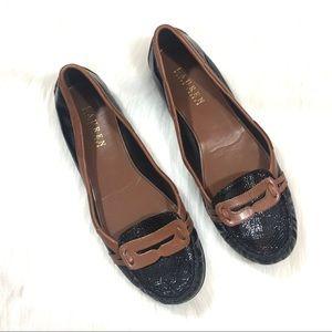 LAUREN Ralph Lauren Patent Loafers Size 9